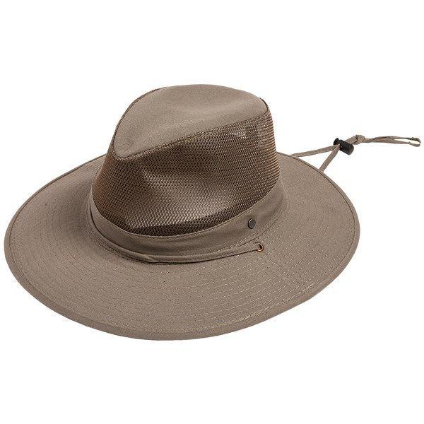 Stetson SolarWeave Safari Hat - Mesh Crown (For Men and Women ... 5f06bbd1250e