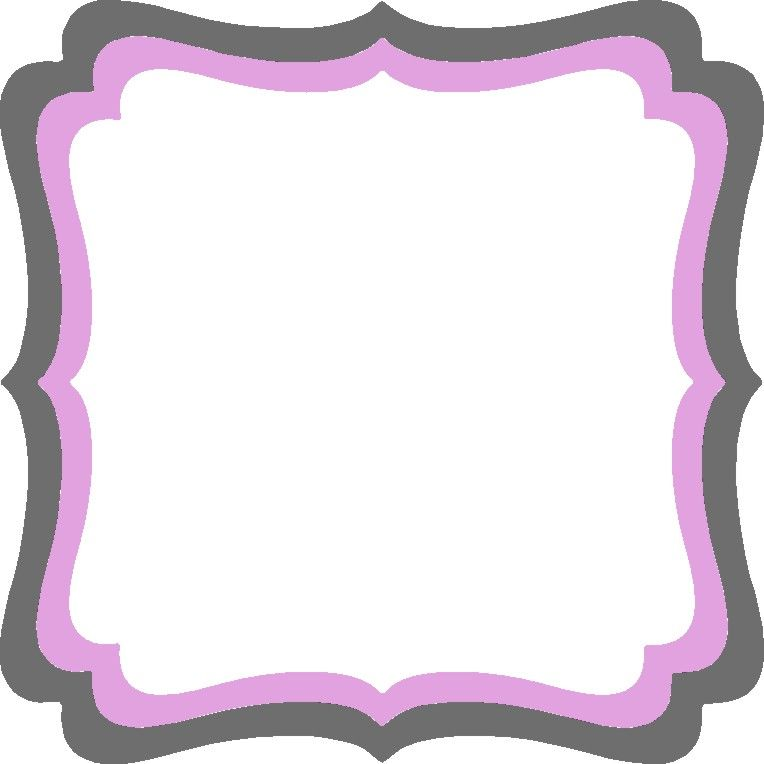 Glasses Frame Shape Names : Large Frame Frilly #1 ***Same Shape New Name*** - Go ...