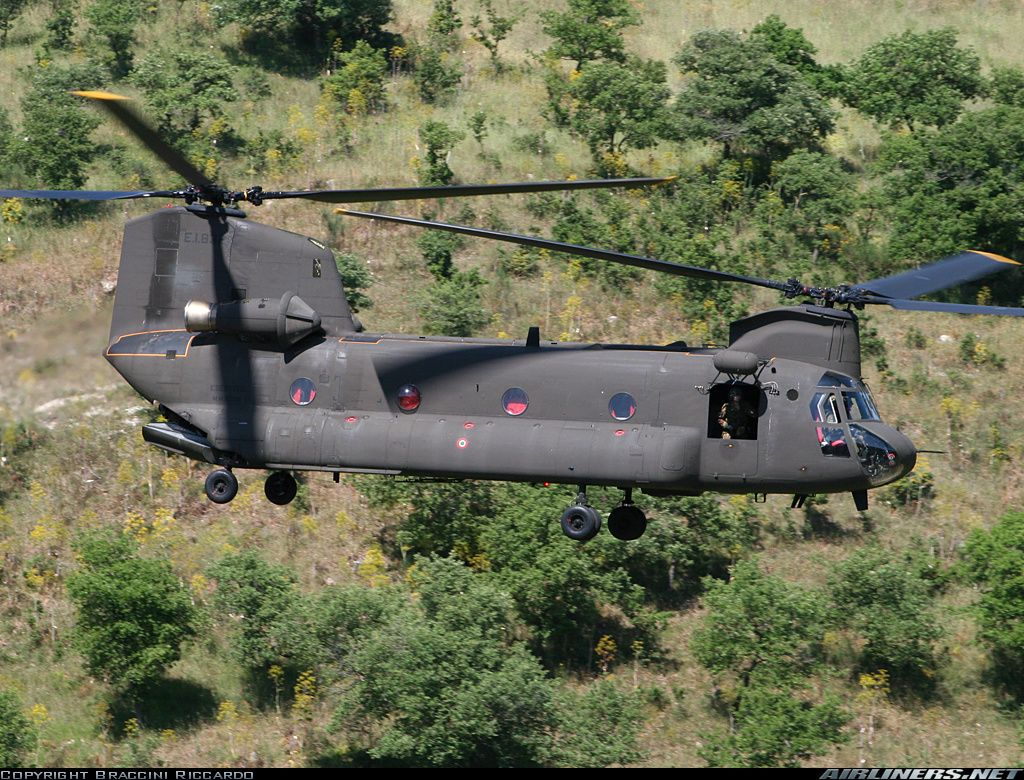 Elicottero Ch : Italian army boeing elicotteri meridionali ch c chinook all