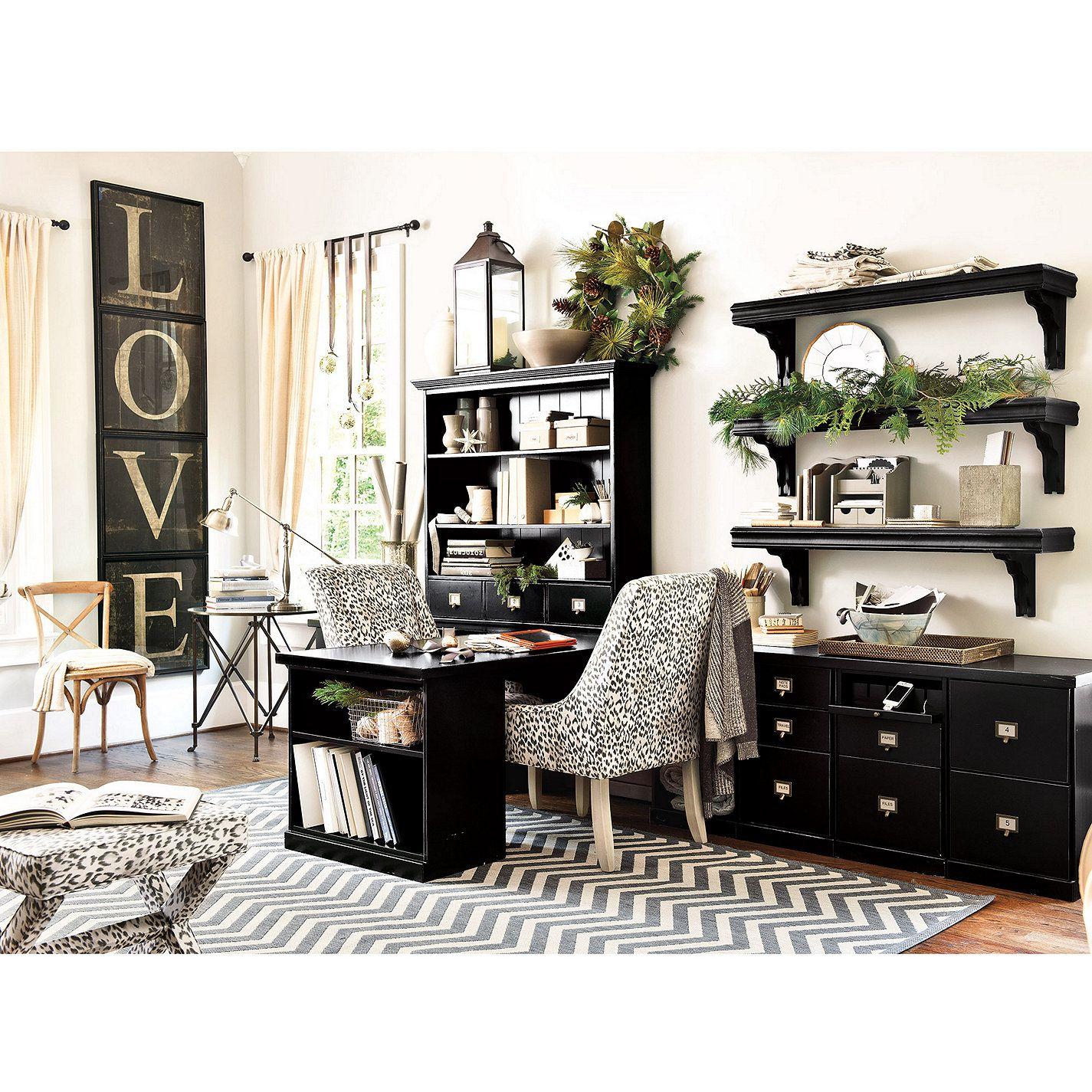 Chevron Stripe Indoor/Outdoor Rug Home office furniture