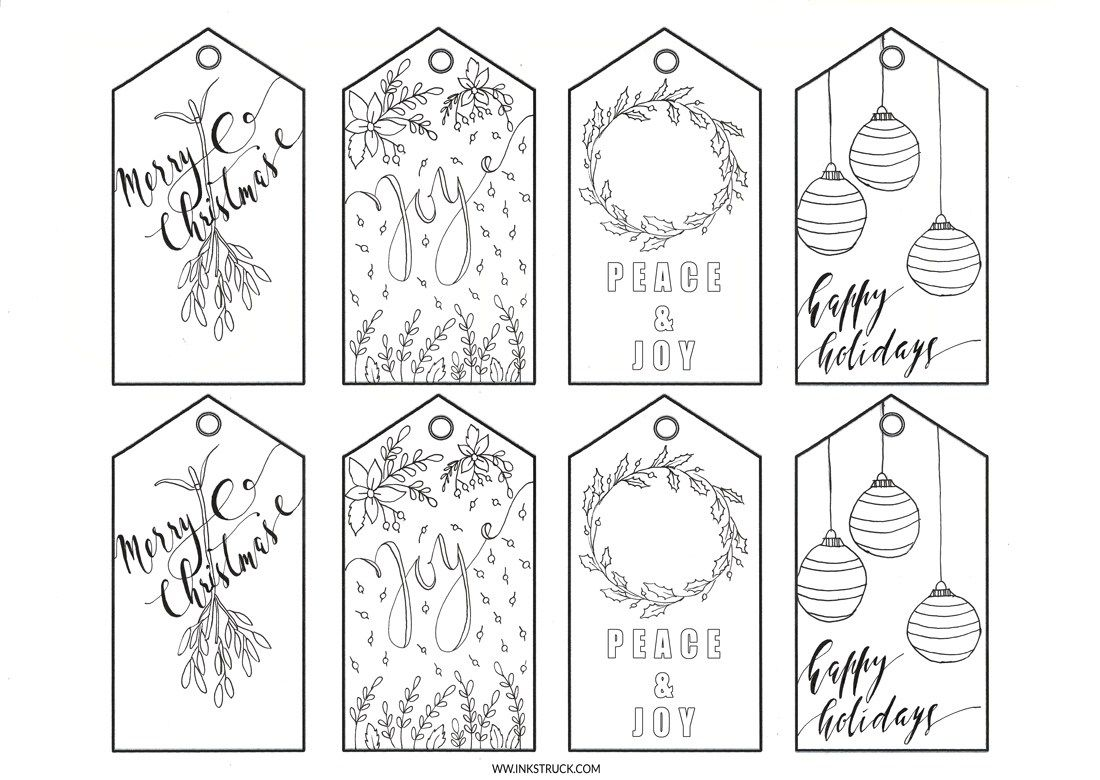 Printable Christmas Gift Tags Inkstruck Studio Christmas Gift Tags Printable Christmas Tags Printable Free Christmas Tags Printable
