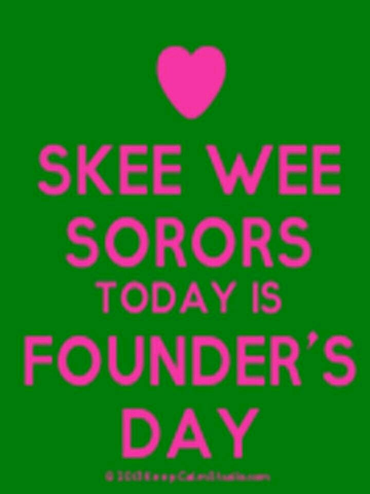 Founders\' Day | Pink & Green Zoe | Pinterest | Alpha kappa alpha