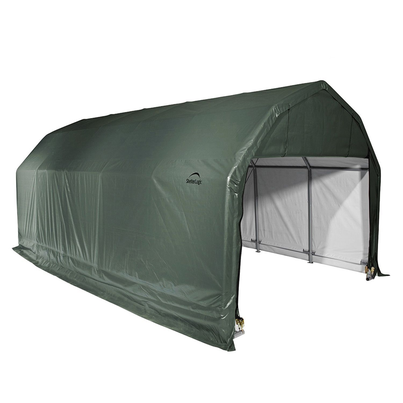 outdoor box x garden garage ft a carport style shelterlogic round com dp in canopy amazon