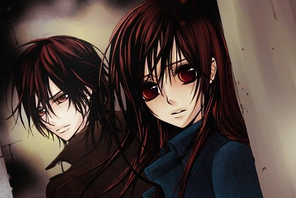 Tags: Anime, Vampire Knight, Kuran Kaname, Yuki Cross