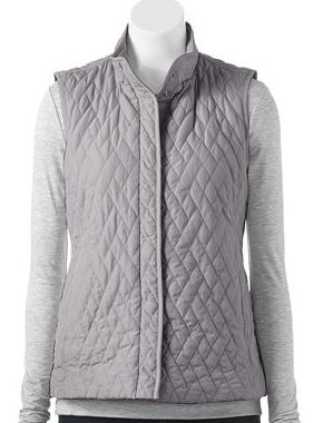Croft & Barrow® Quilted Vest - Women's (Nice style. A different ... : croft and barrow quilted vest - Adamdwight.com