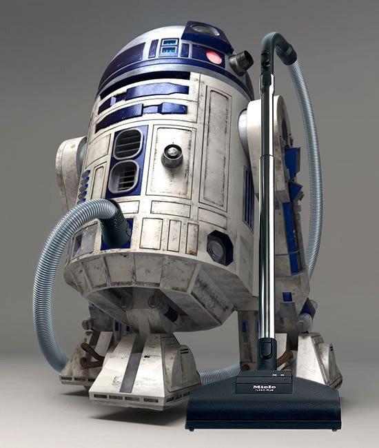 R2d 2 vacuume