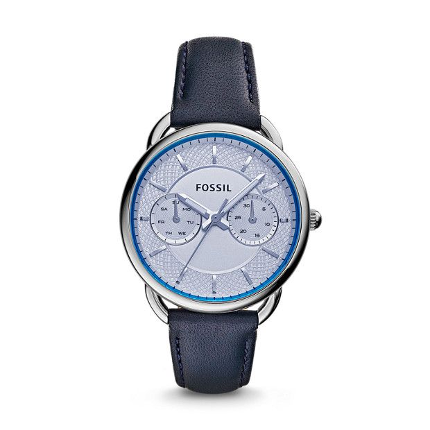 Tailor Multifunction Blue Leather Watch - My new friend!
