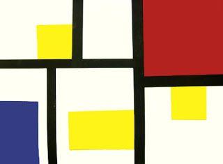 Stuck in the Mud Pottery: Kinders meet Piet Mondrian