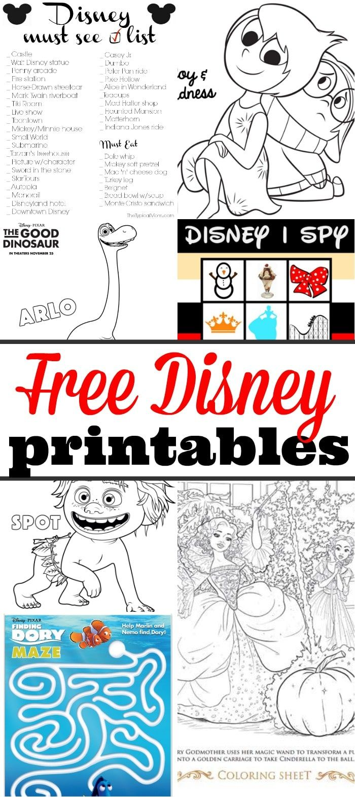 Lots of free disney printables here from the newest movies coloring
