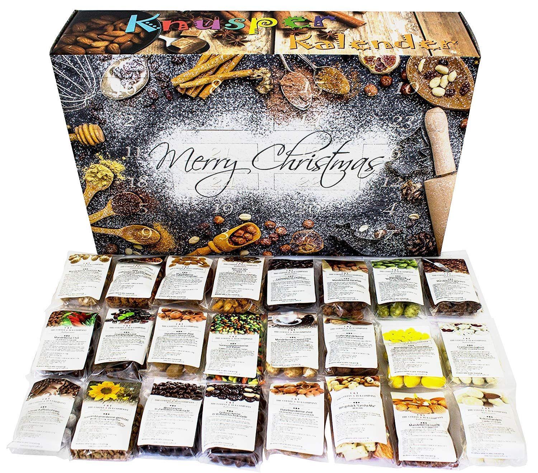 C&T Crunchy Advent Calendar 201824 Delicious Snack Mixes