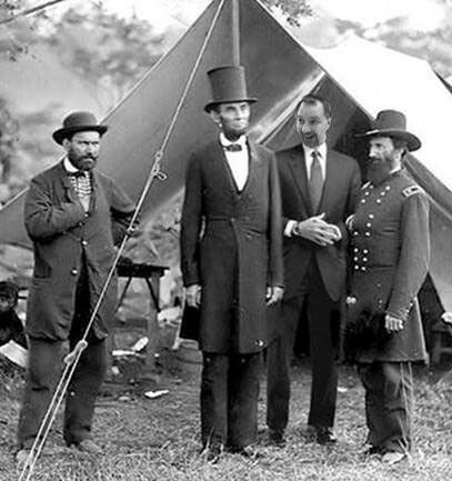 TBT -  Hangin' with Abe and the boys.
