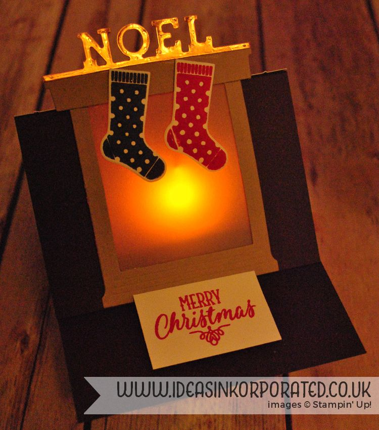 Hang your Stocking from Stampin' Up! for our Pinkies Blog