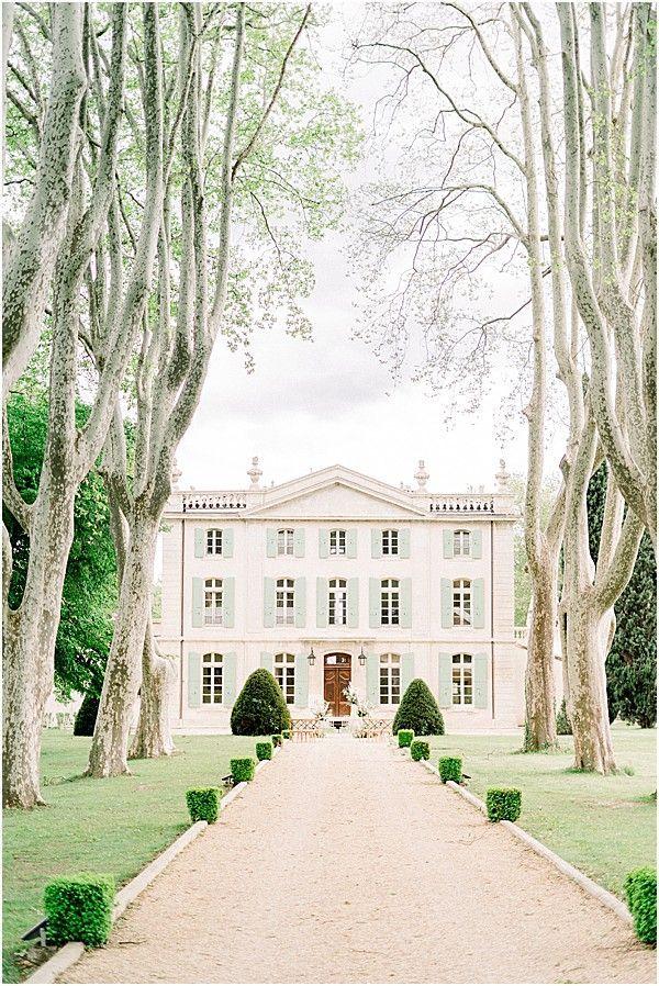 Venue Chateau de Tourreau in Provence France • Photos by Jessica Photography