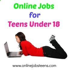 find job under 18