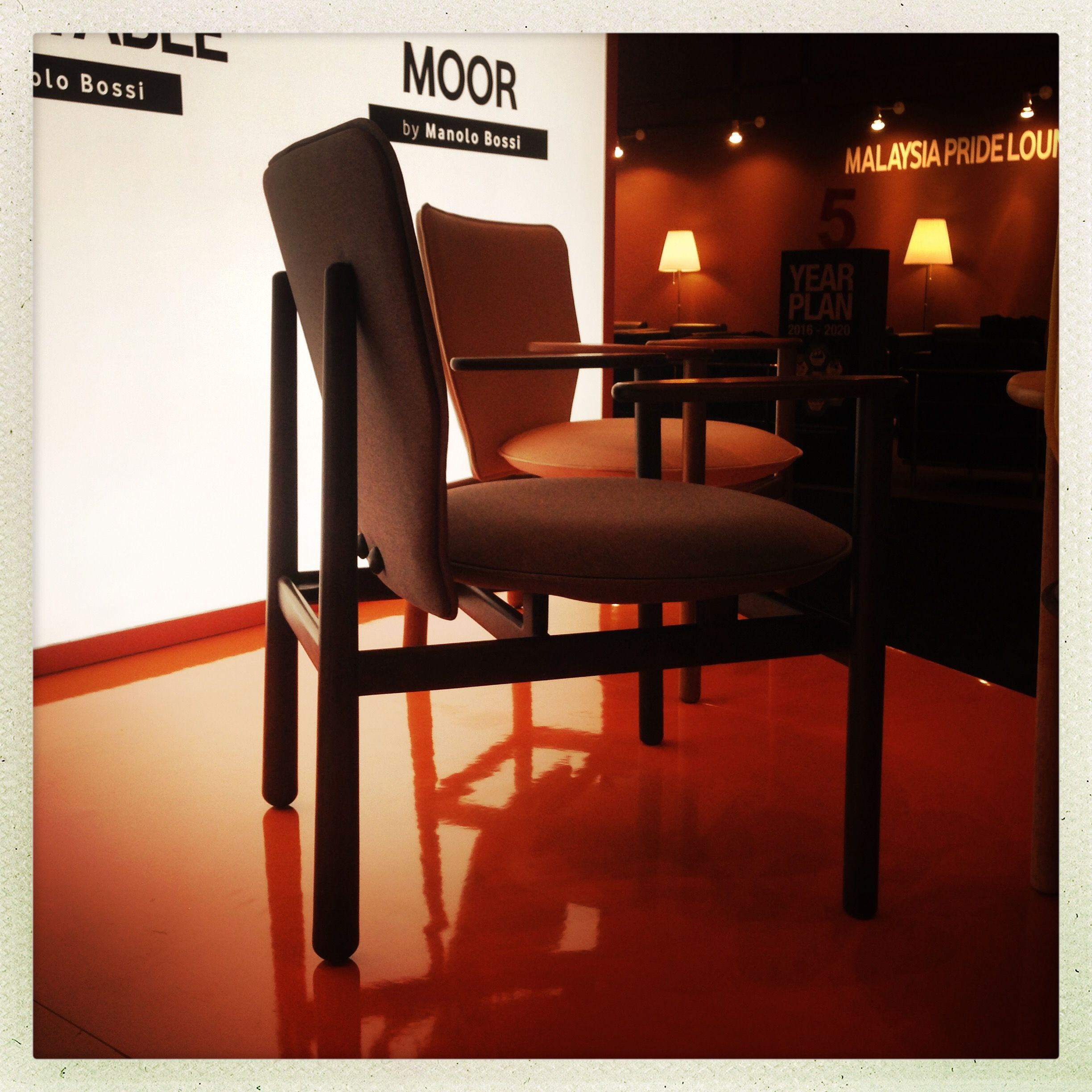 Lovely MOOR Easy Chair For DEEP Furniture Sdn. Bhd.   Malaysia #PDP Launch @
