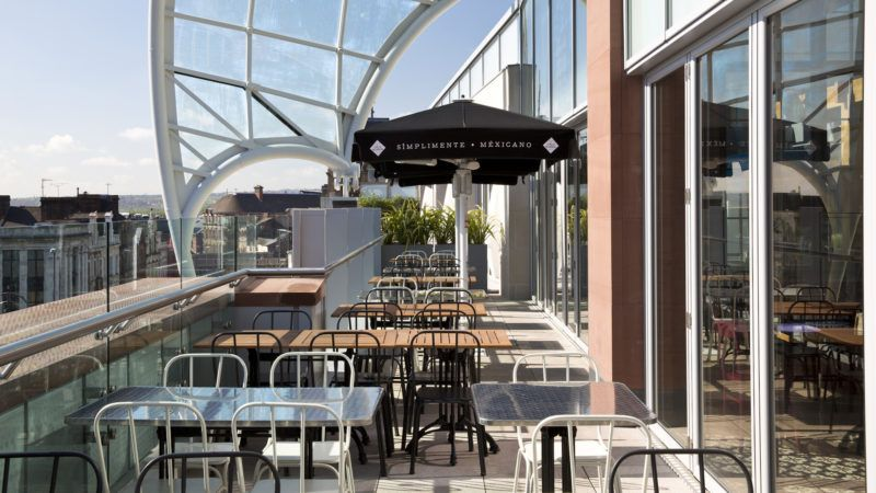 Roof terrace at Cielo Blanco | Best rooftop bars, Rooftop ...