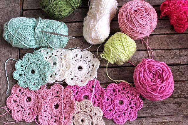 Maybelle Crochet Flowers Tulips Things To Make Pinterest