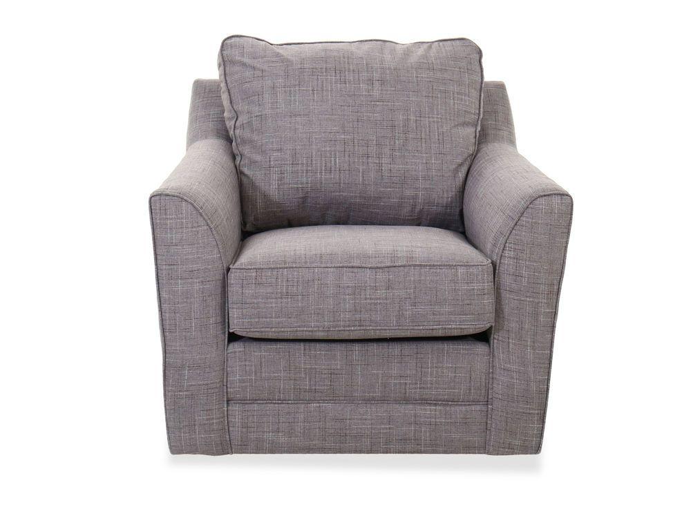 Casual Swivel Chair in Gray | Swivel chair, Chair, Living ...