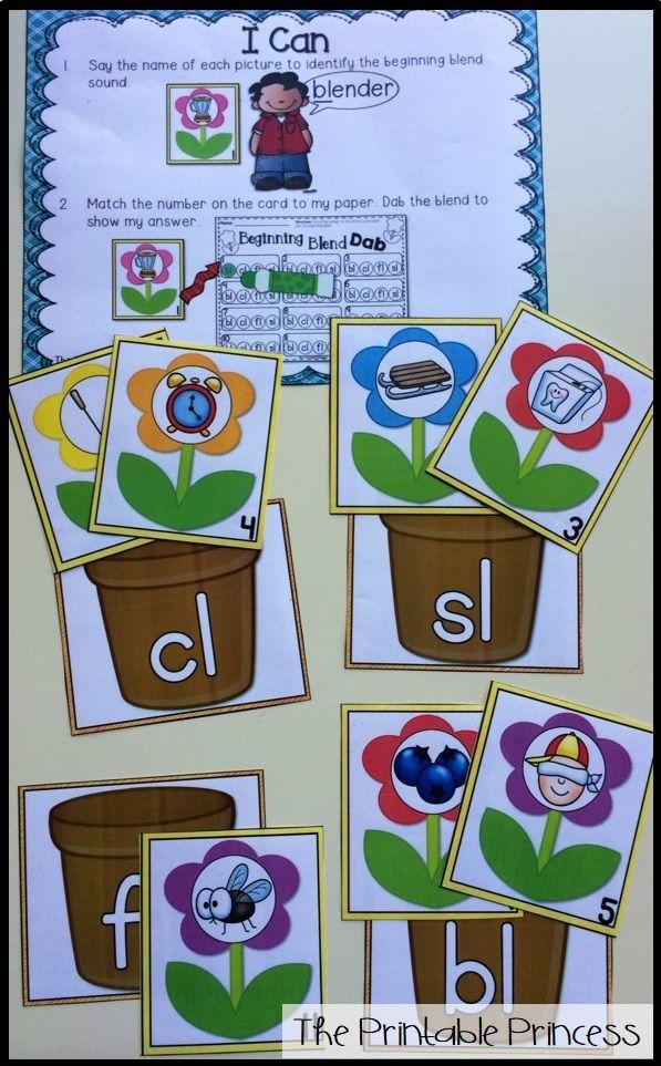 Spring Activities {Kindergarten Literacy and Math Centers} | Jump ...