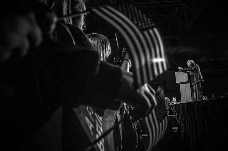 Photos From The Iowa Campaign Trail Photo Iowa Sen Bernie Sanders