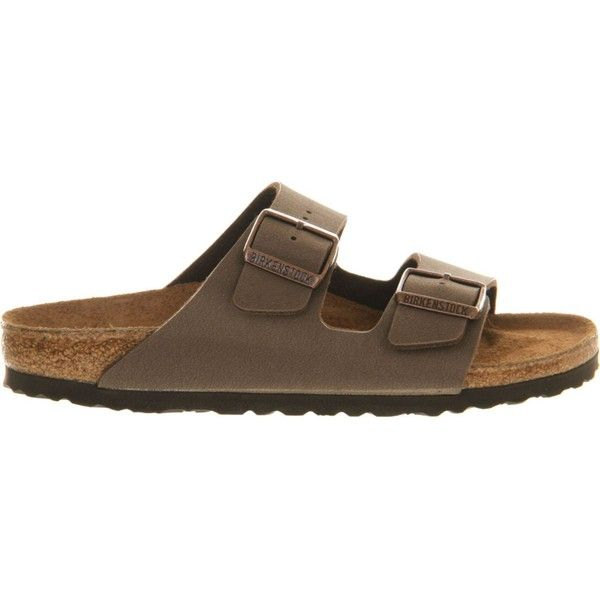 59e73b2a3e77 Birkenstock Arizona faux-leather sandals ( 64) ❤ liked on Polyvore  featuring shoes