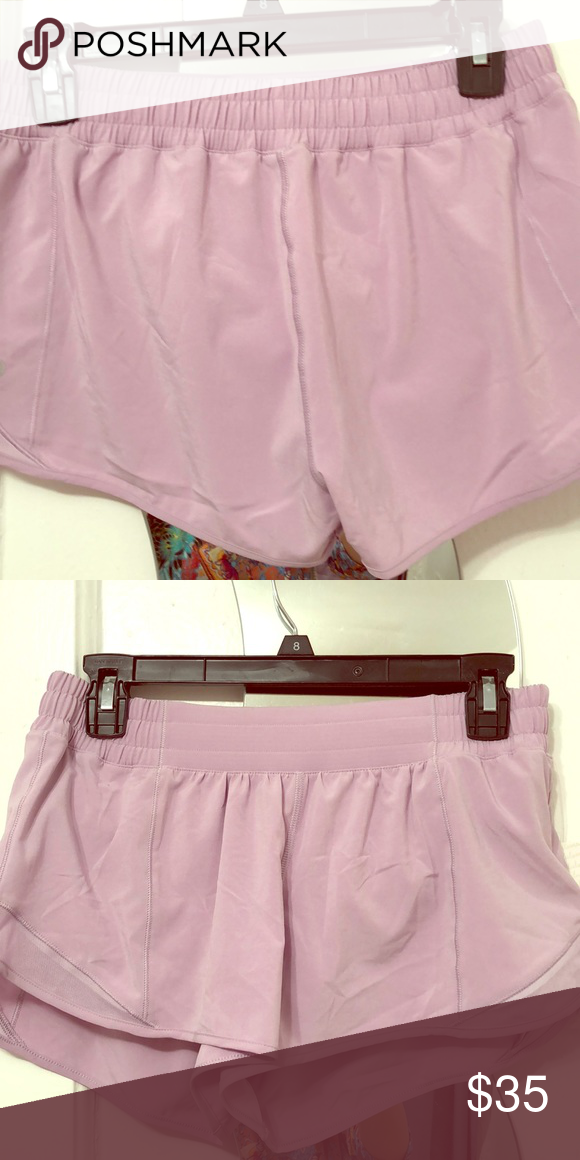 Lululemon Hotty Hot Short Brand New Hot Shorts Lululemon Light Pink Color