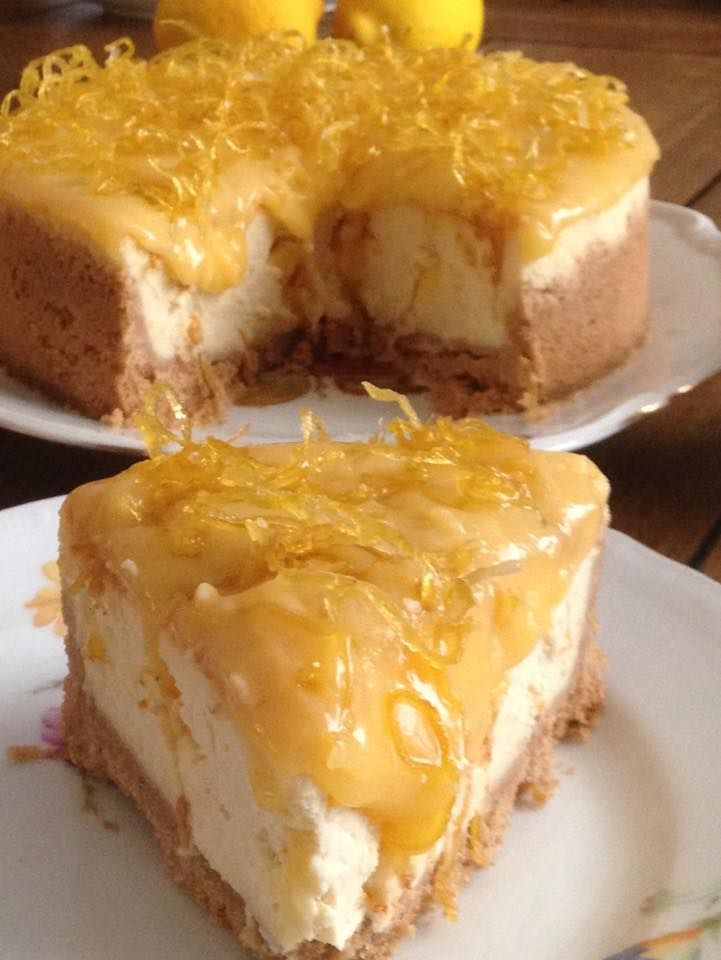A Full Palate Festival  Cheesecake with Lemon A Full Palate Festival  Cheesecake with Lemon