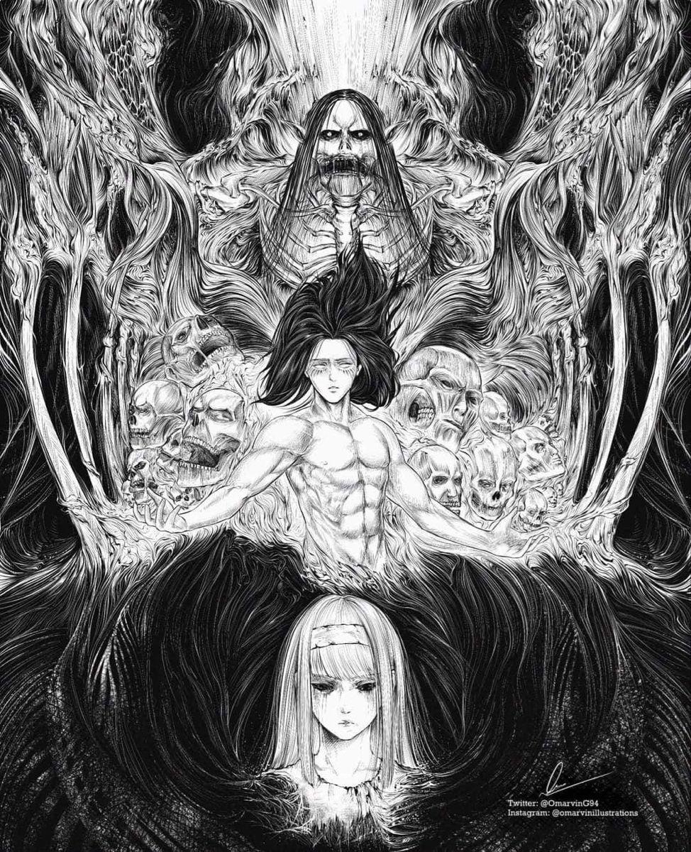 Eren Founder In 2020 Attack On Titan Attack On Titan Anime Attack On Titan Fanart