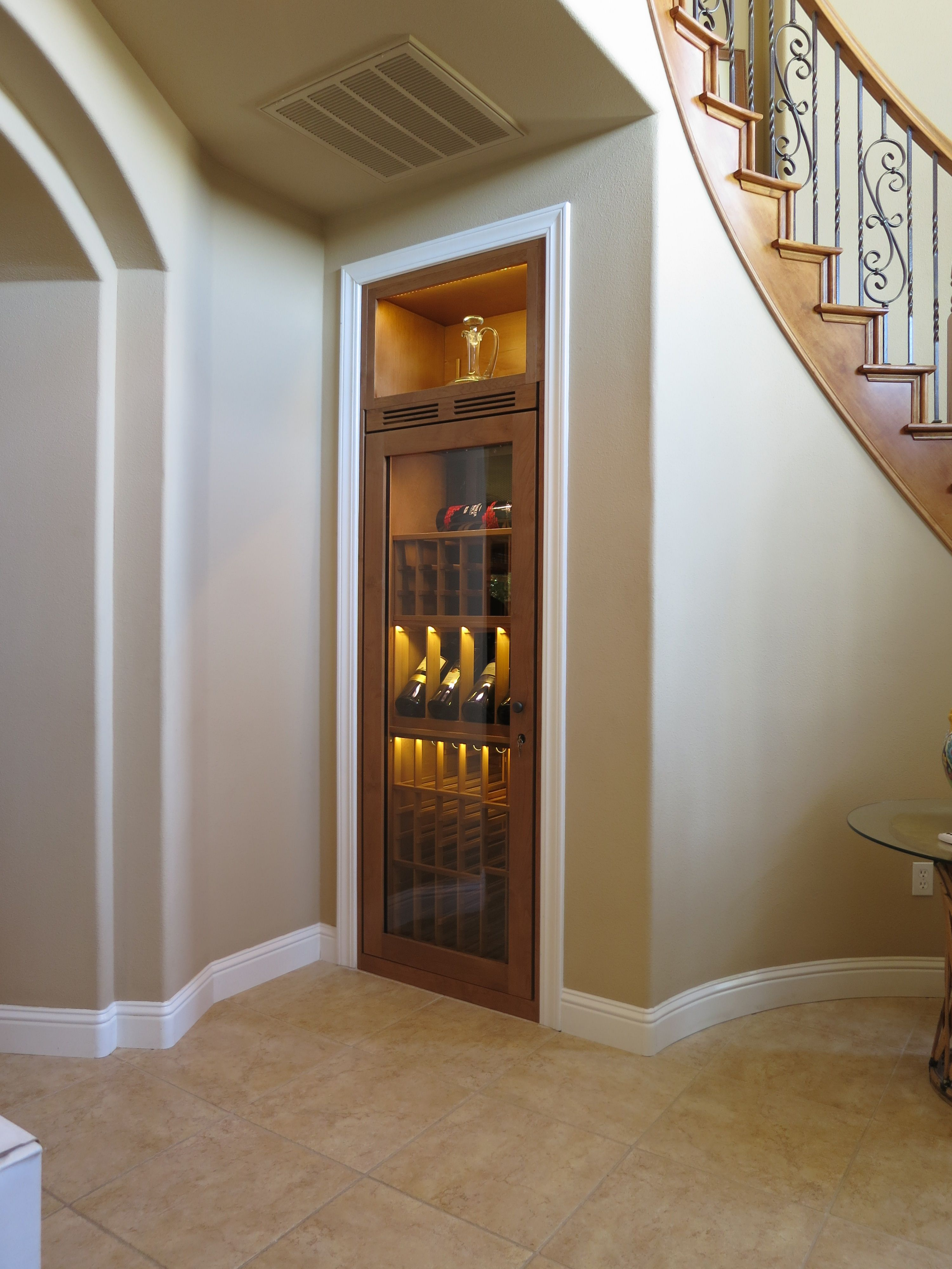 Closet Cabinet By Vinotheque Wine Cellars | Wine Cabinets ...