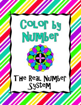 This Coloring Activity Allows Students To Practice Their Algebra Skills While Having Fun Students Wi Solving Equations Real Number System Solving Inequalities