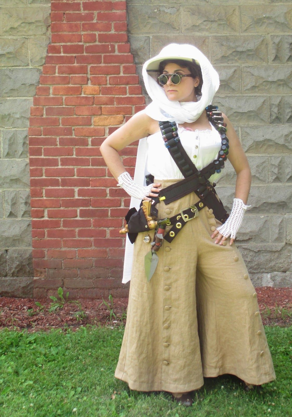steampunk mummy huntress costume steam punk fashion