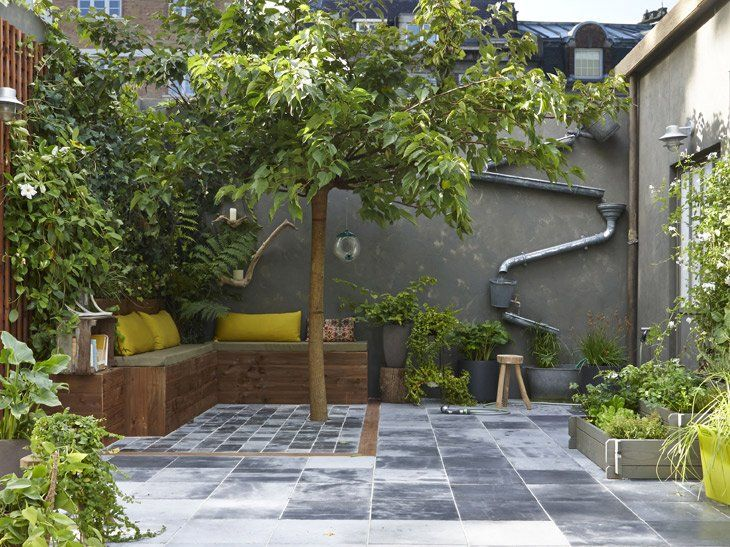 amenagement cour exterieur maison perfect cool am nagement cour ext rieure sur plusieurs. Black Bedroom Furniture Sets. Home Design Ideas