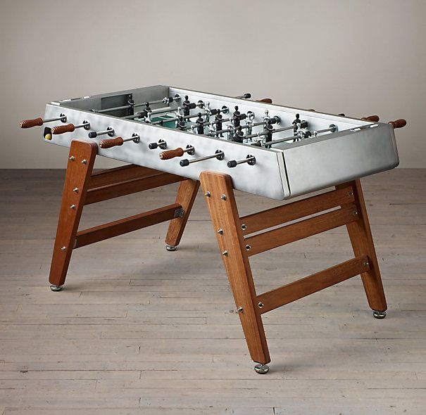 competition foosball table restoration hardware