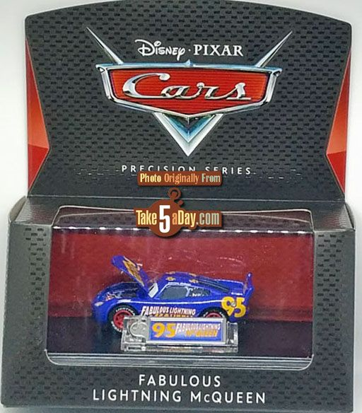 Mattel Disney Pixar Cars 3 Precision Series Fabulous Lightning