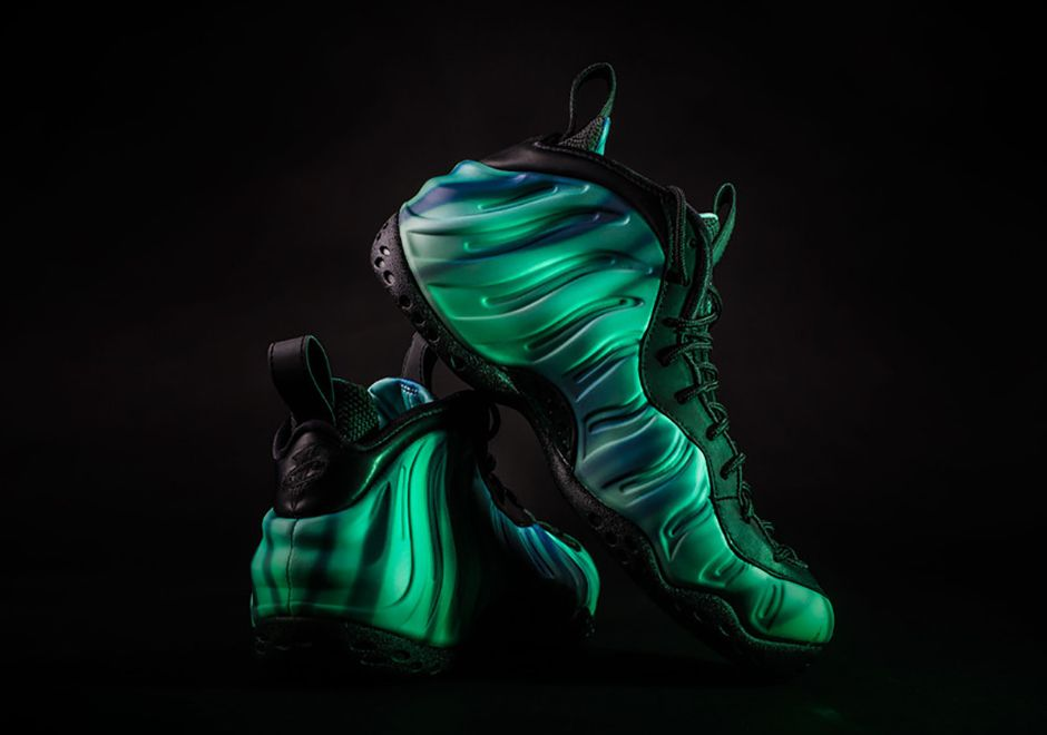 9c3fa214630dc new arrivals nike foamposite galaxy for kids aff24 eaa4c  real nike  foamposite one all star northern lights sneakernews 57e11 37d7b