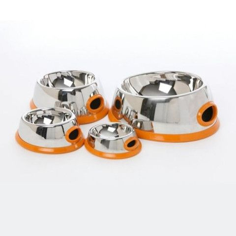 Modern Stainless Steel Bowl - Snooty Paws