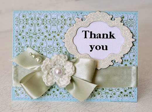 Thank you card (any occasion)