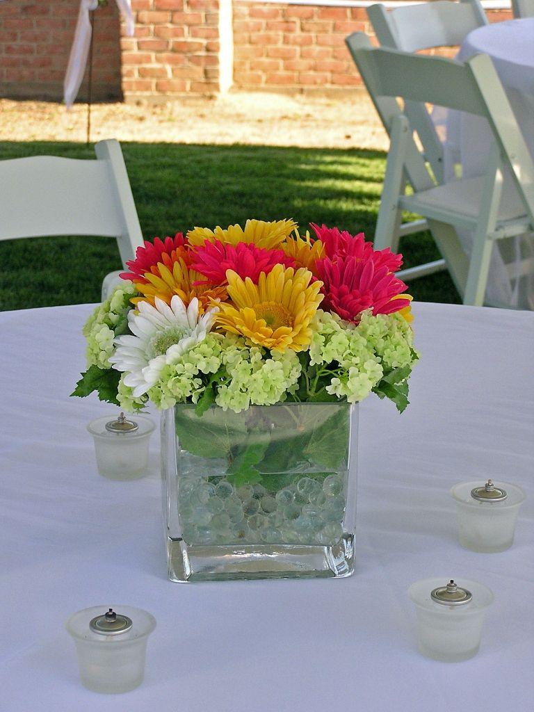 Amazing small square vase regarding residence flower