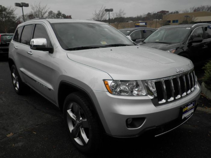 2012 Jeep Grand Cherokee Limited In Rockville Md 11328557 At