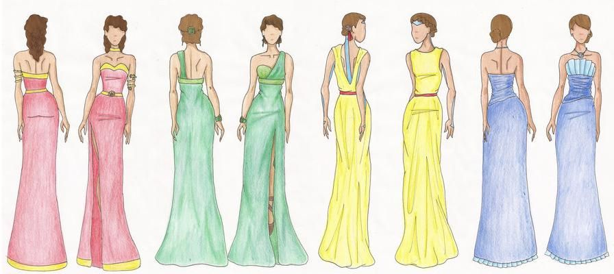 Dress Sketches For Beginners Google Search I Love To