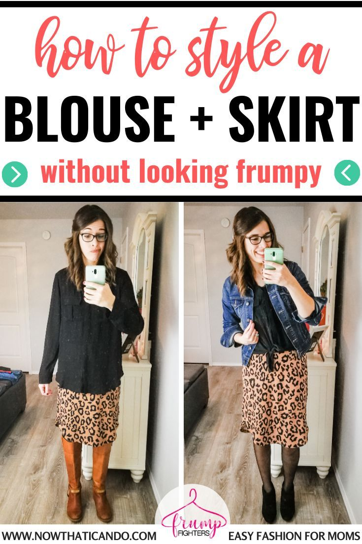 Here's a super chic outfit with a blouse and a skirt. I watched this short video and learned one super tip on how to style a flowy top without looking frumpy! #classicstyle #wardrobe #style #skirtoutfit #blouseoutfit