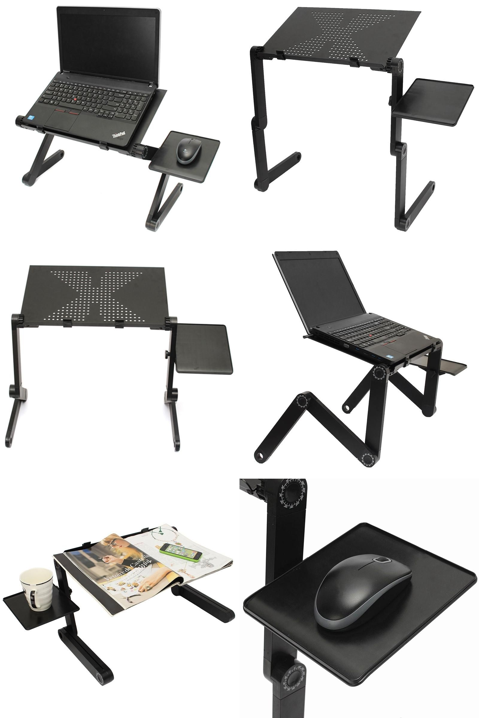 Visit to buy portable folding laptop notebook table desk adjustable