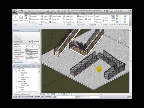 RevitCat  Revit Multistorey Railings   Story 1   BIM Tutorials   Pinterest. RevitCat  Revit Multistorey Railings   Story 1   BIM Tutorials