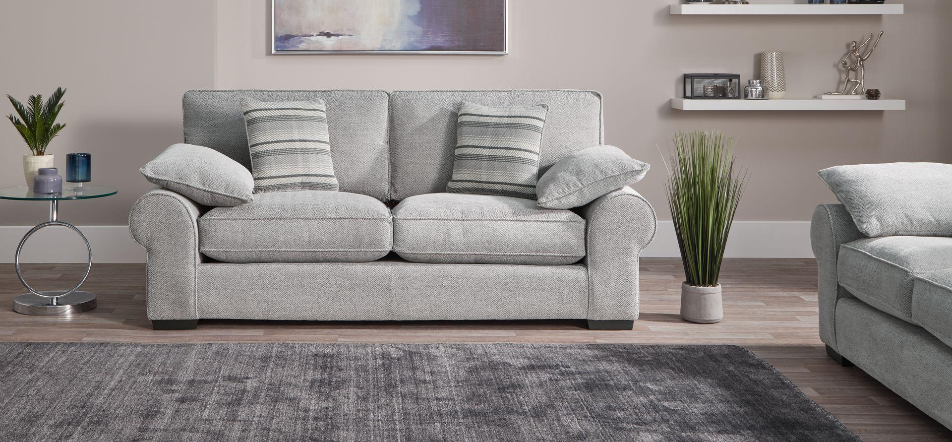 Ayda 3 Seater Sofa Standard Back Scs 3 Seater Sofa Living