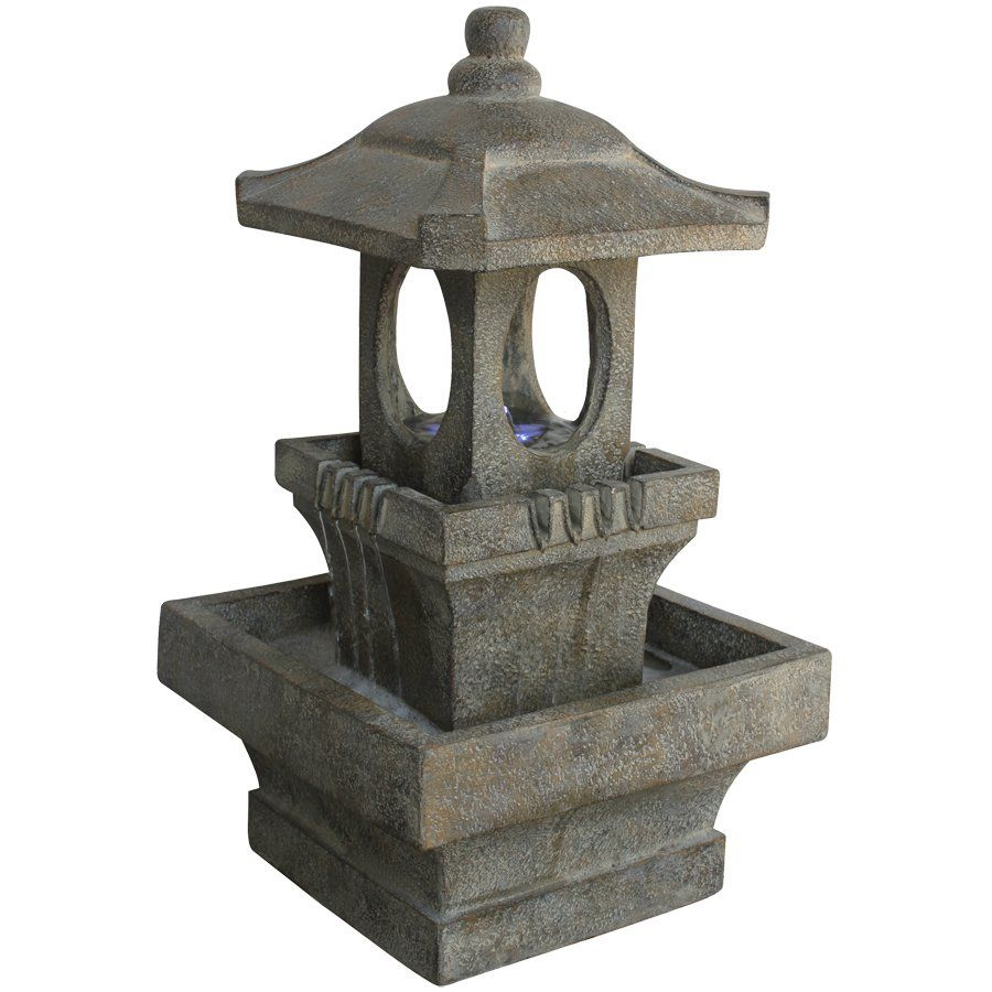 Angelo Decor International Contemporary Lantern Fountain 400 x 300