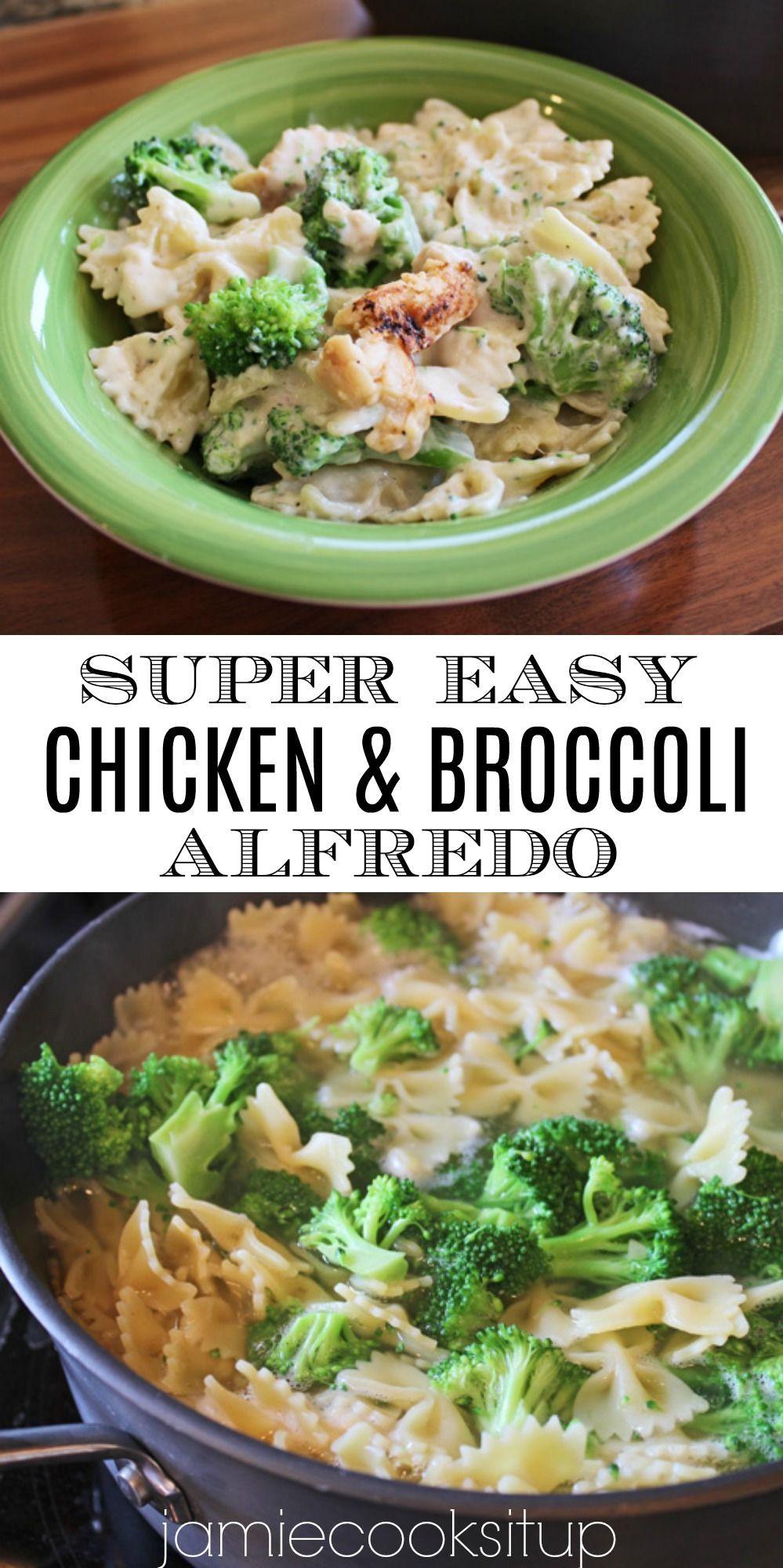Pin By Birgit Schaefer On Recipe In 2020 30 Minute Dinners 30 Min Meals Broccoli Alfredo