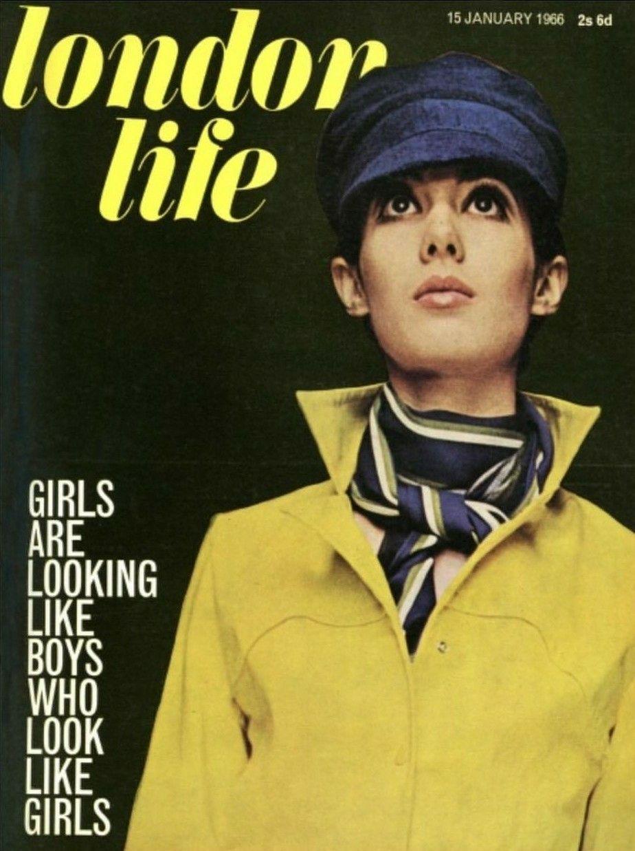 2018 年の london life january 1966 girls are looking like boys