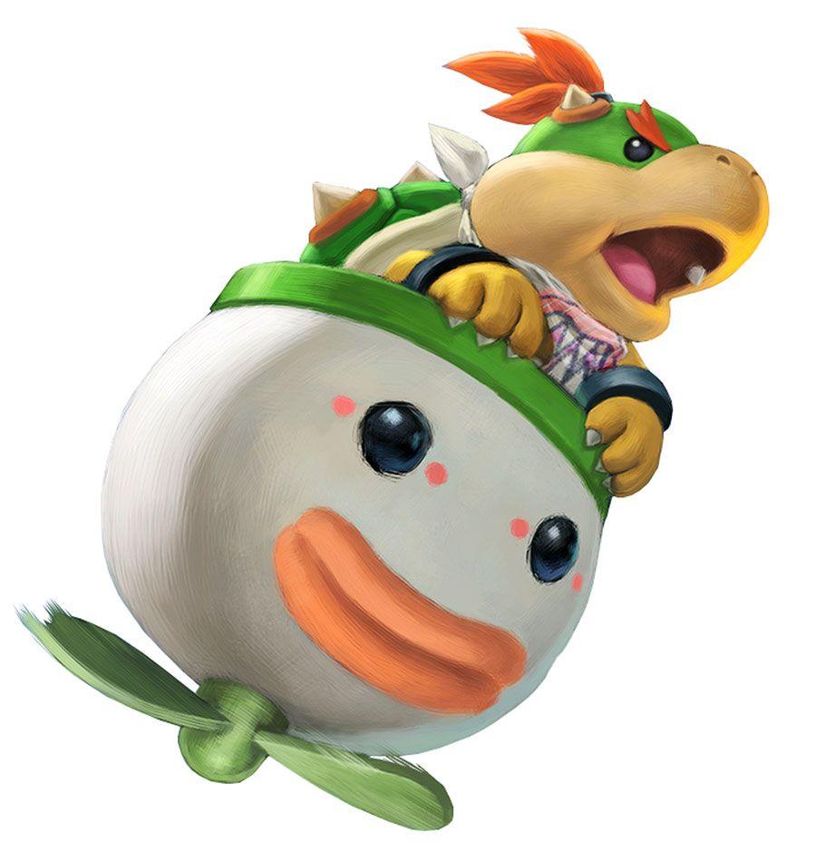 Bowser Jr Artwork Super Smash Bros Ultimate Art Gallery Game Character Design Super Smash Bros Jr Art