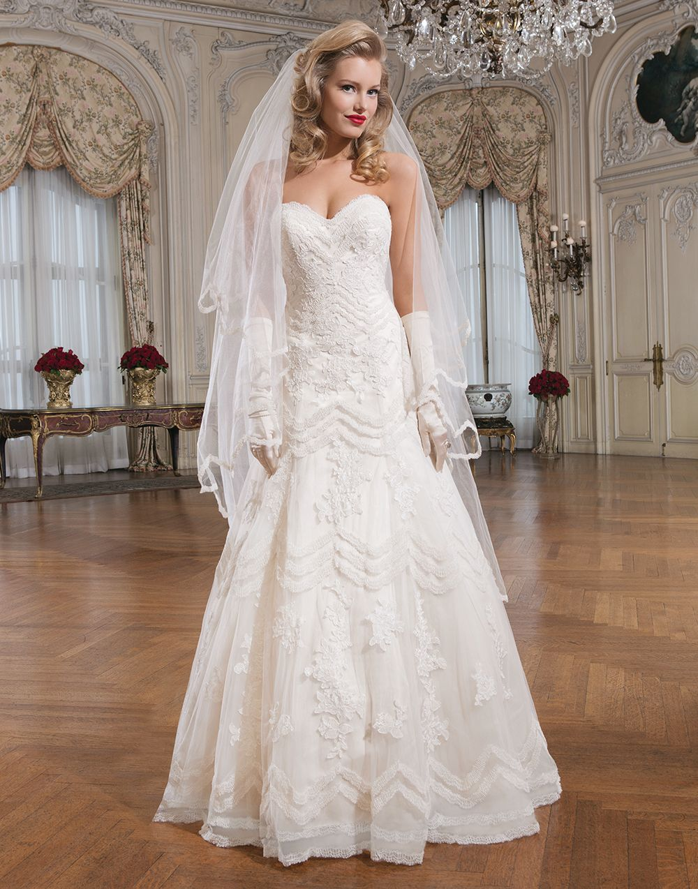 Justin Alexander Wedding Dresses Style 8759 Lace The O