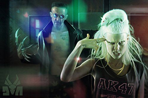 Die Antwoord Fabric Cloth Rolled Wall Poster Print Size 36 X 24 20 X 13 Click Image For More Details Note It Is Af Die Antwoord Music Bands Yolandi Visser